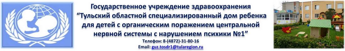 ГУЗ « Тульский областной специализированный дом ребенка №1»